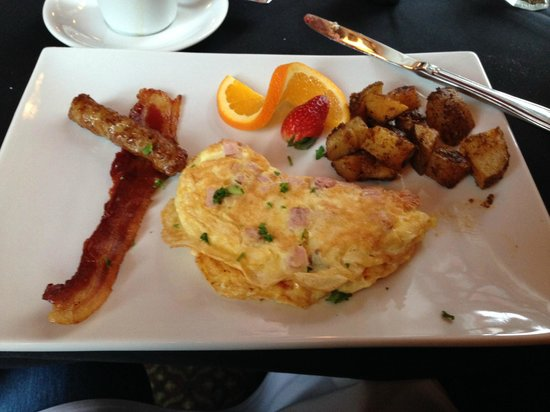 Old City House Inn and Restaurant: 2nd Course Breakfast