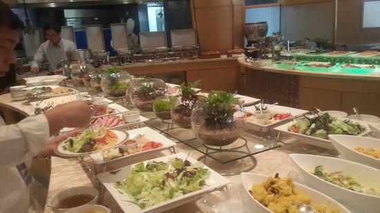 Belle-Essence Seoul Hotel: Makanan di Cafe Elyse