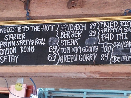 The Hut Cafe: Worth the walk