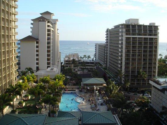 Embassy Suites by Hilton Waikiki Beach Walk : ホテルからの眺め