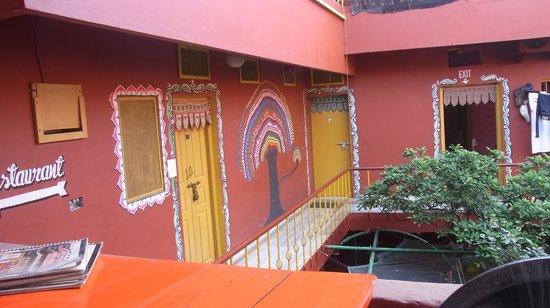 Ganpati Guest House : inside the ganpati