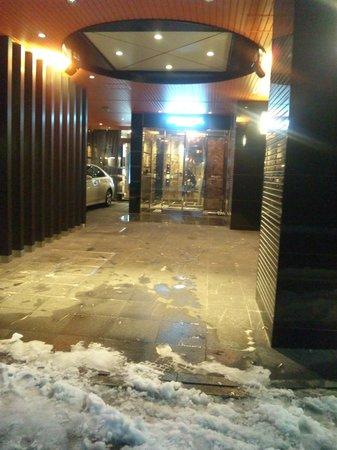 APA Hotel Ginza Kyobashi: エントランス