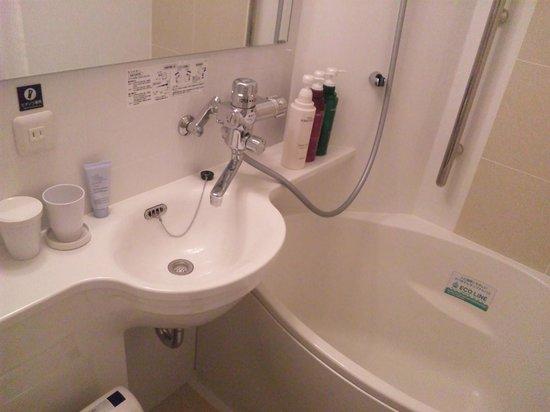 APA Hotel Ginza Kyobashi: バスルーム