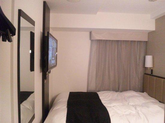 APA Hotel Ginza Kyobashi: 狭いけれど快適