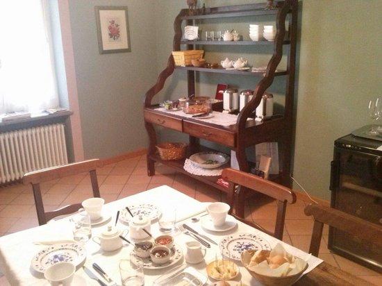 La Giribaldina: Angolo colazione