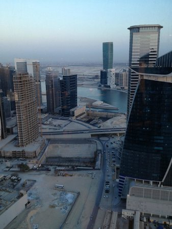 JW Marriott Marquis Hotel Dubai: View from my room