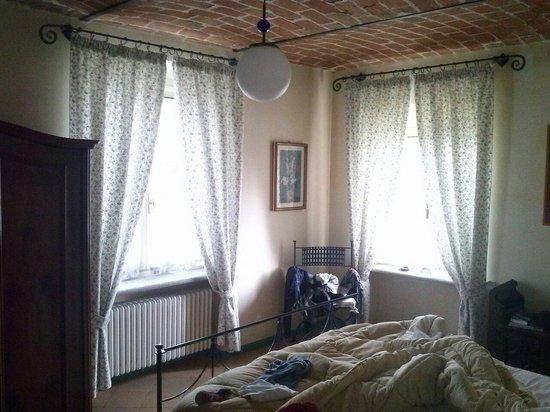 La Giribaldina: La camera coi bellissimi soffitti