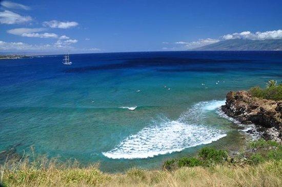 Honolua Bay: 水が凄く綺麗です。