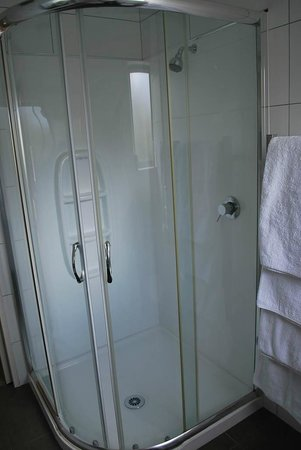 Anchorage Motel Apartments : Shower booth