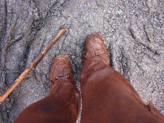 Ahiu Hawaii : muddy boots
