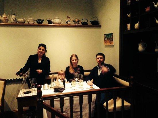 Agata e Romeo : наш столик