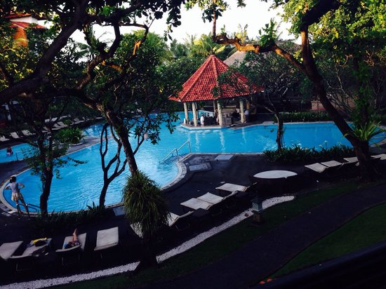 Sol Beach House Bali Benoa by Melia Hotels International : View from our room 8162