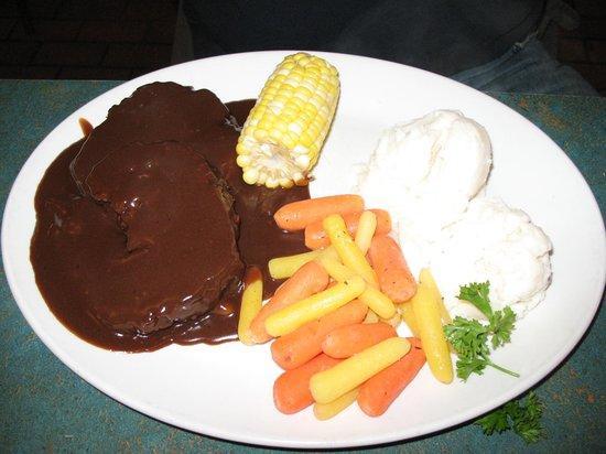Elgin Street Diner: meatloaf