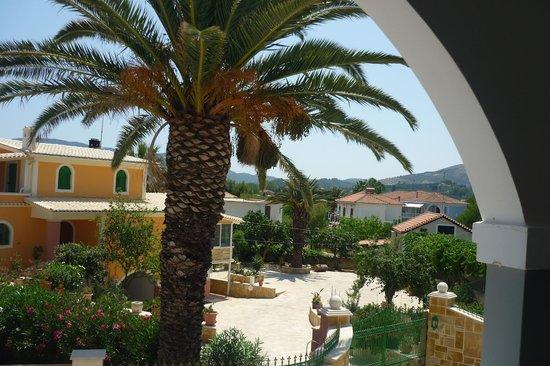 Zante Sun Hotel : Вид с балкона