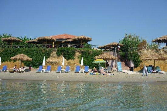 Zante Sun Hotel : Пляж