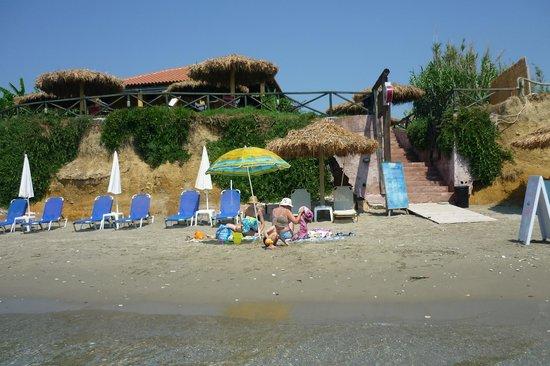 Zante Sun Hotel : Пляж в Агиос Состис