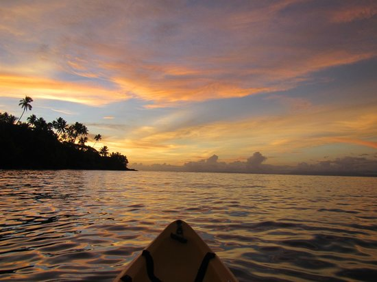 Paradise Taveuni: From the kayak