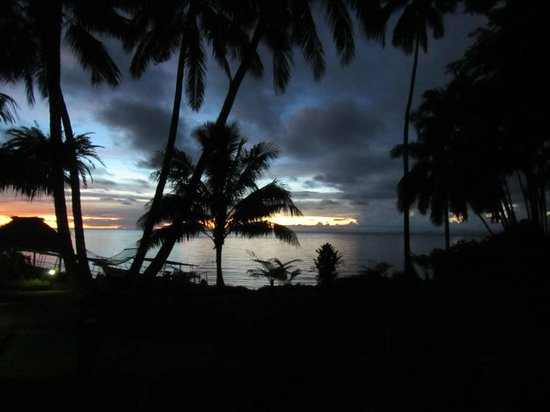 Paradise Taveuni : view from room