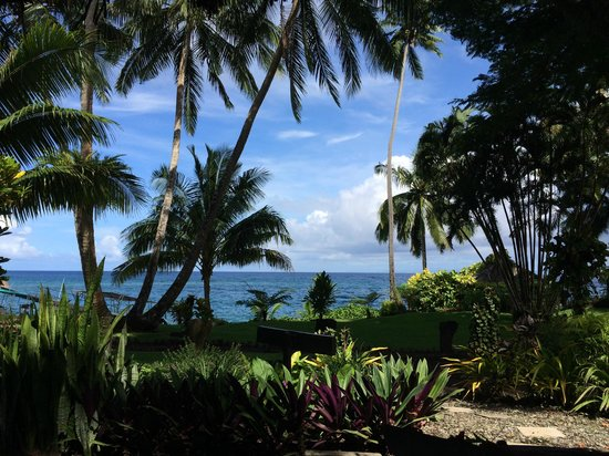 Paradise Taveuni: view from room