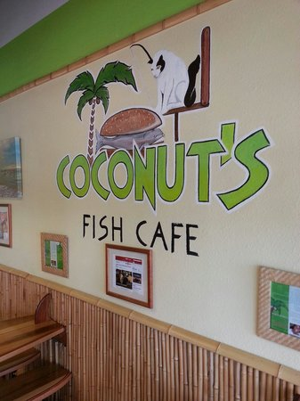 Coconut's Fish Cafe: Best fish tacos! Neat surf styled restaurant.