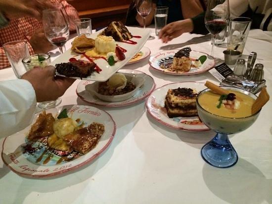 Il Fornaio: desserts