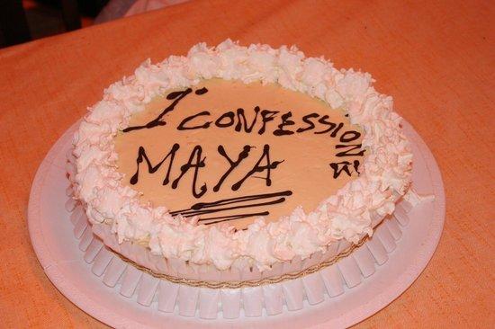 """""""Il Console"""" dei f.lli Allegra: La buonissssima torta"""
