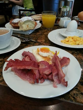 Grand Hyatt Dubai : delecious breakfast