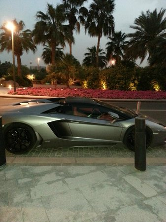 Grand Hyatt Dubai : not my car