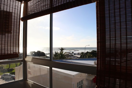 Camps Bay Resort: view from the bedroom of camps bay beach