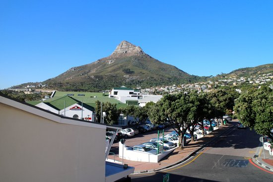 Camps Bay Resort: view from the living room of lions head