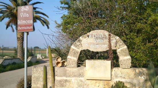 B&B Villa Silmona: l 'entrata