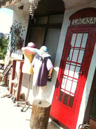 LaCasa : 院子陽光烤肉區