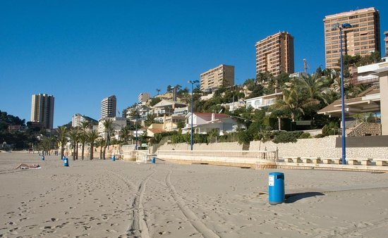 Quiet Poniente Beach