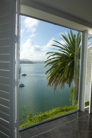 The Tauranga on the Waterfront Motel : Charming view over the water.