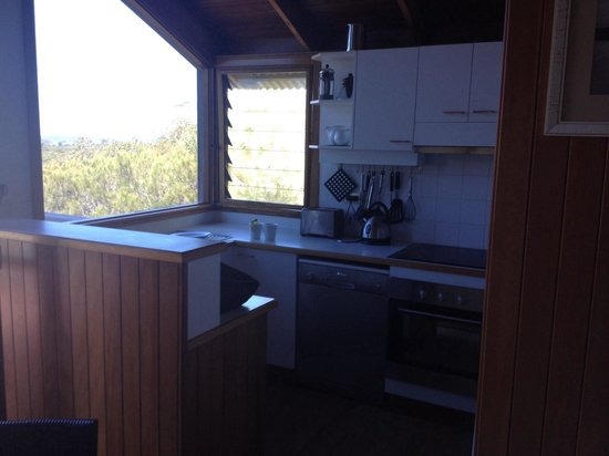 The Oasis Resort & Treetop Houses: Treetop house kitchen