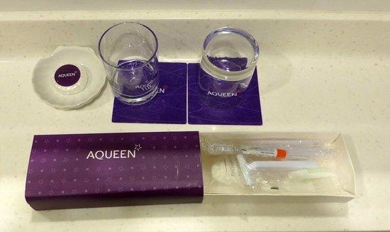 Aqueen Hotel Lavender: toiletries