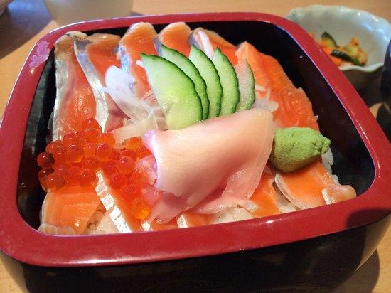 Kohan Restaurant: Salmon Don is a great choice for salmon lovers
