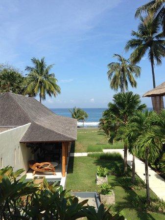 Qunci Villas Hotel : Oceanview from Room Balcony