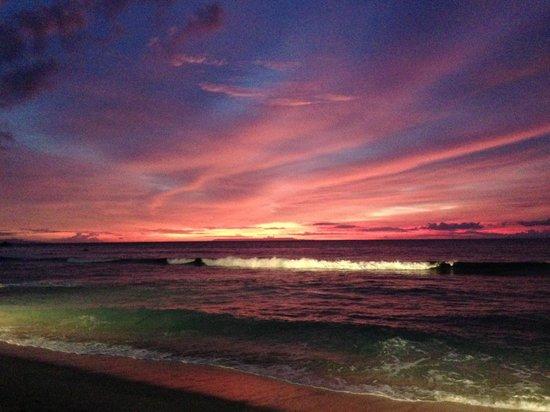 Qunci Villas Hotel : Spectacular Sunset