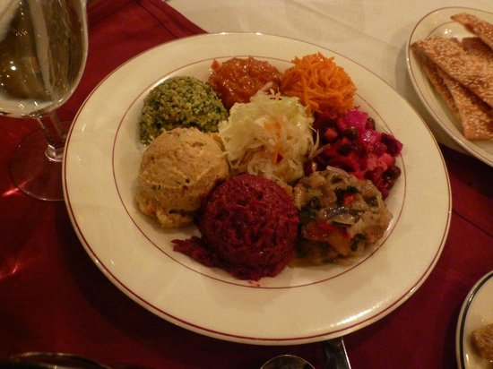 Russian Tea Time : Vegetarian Spreads and Salads