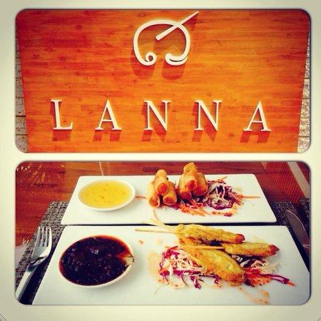 Lanna Samui : Hotel food