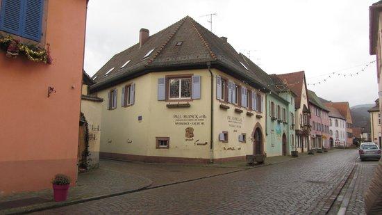 Hotel l'Abbaye d'Alspach: город