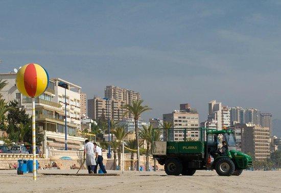 Beachcombers on Poniente Beach