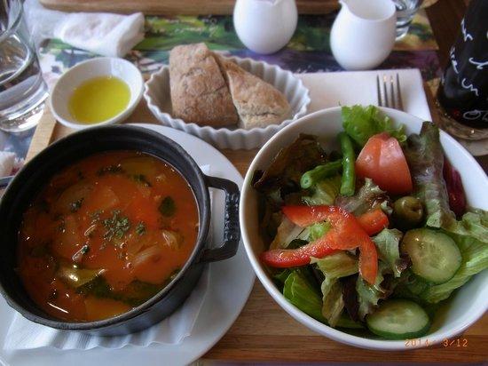 L'OCCITANE CAFE: Soup lunch set
