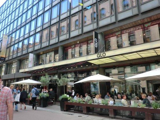 GLO Hotel Kluuvi Helsinki : ホテル外観