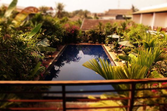 La Niche D'Angkor Boutique Hotel : view from the balcony