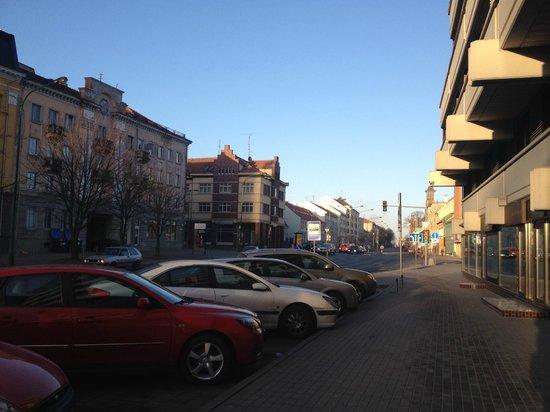 Amberton Klaipeda: около отеля