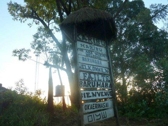 Mount Kilimanjaro View Lodge : benvenuto!