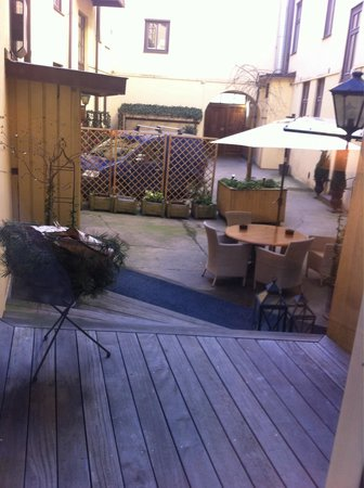 Hotel Royal Gothenburg : Cute courtyard