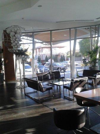هوتل سبا جاردينيس دي لوركا: Salón de entrada